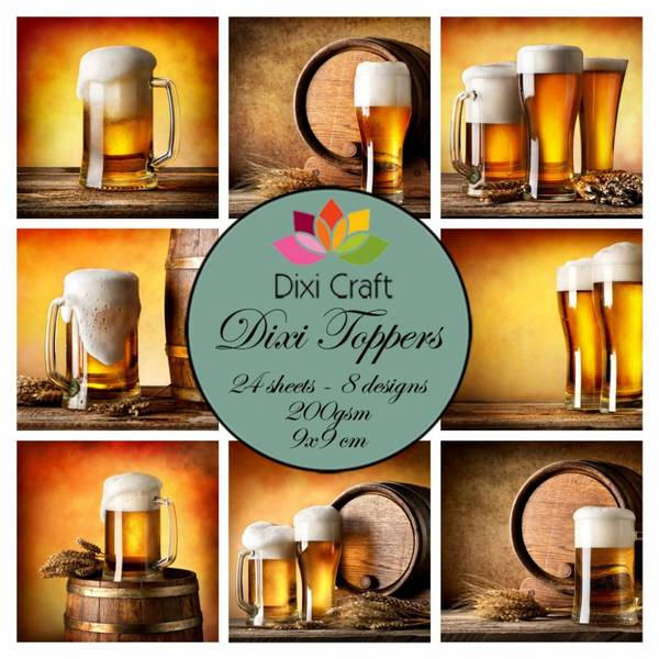 Dixi Craft - Dixi toppers - ET0315 -  Beer