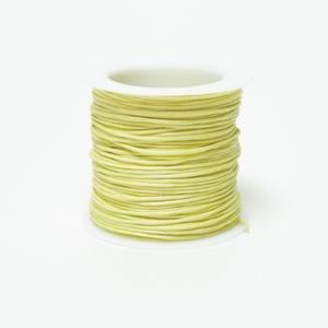 Bilde av Kort & Godt - TR121 - Bomullstråd - 20m - Lys gul