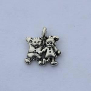 Bilde av Charms - Barn - Mini - Sølv - 10 stk