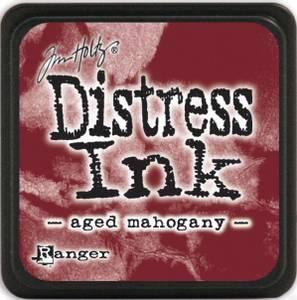 Bilde av Distress - Mini Ink Pad - AGED MAHOGANY