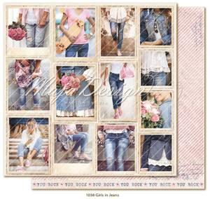Bilde av Maja Design - 1038 - Denim & Girls - Snapshots - Girls in Jeans