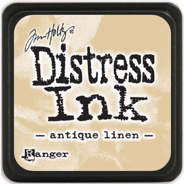 Distress - Mini Ink Pad - ANTIQUE LINEN