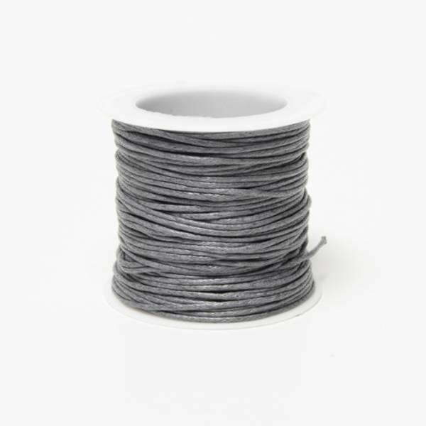 Kort & Godt - TR125 - Bomullstråd - 20m - Mørk grå