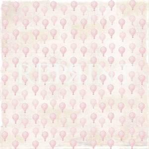 Bilde av Reprint - 12x12 - RP0227 - Dream Big - Small Pink balloons