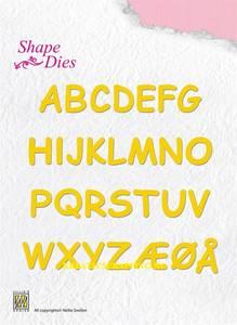 Bilde av Nellie Snellen - SD037 - Shape Dies - Alphabet