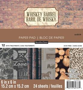 Bilde av Craft Smith - 6x6 Paper Pad - Whiskey Barrel