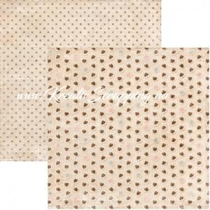 Bilde av Reprint - 12x12 - RP0442 - Coffee - Chocolate Hearts