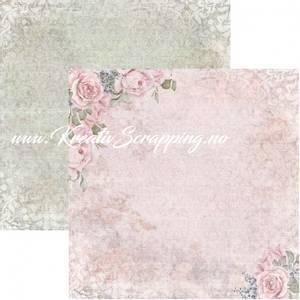 Bilde av Reprint - 12x12 - RP0444 - La Vie en Rose - Rose Garden