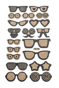 Bilde av Kort & Godt - ST-155 - Kork - Solbriller