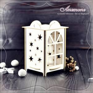 Bilde av Anemone - Chipboard - 3D Lanterns - Advent