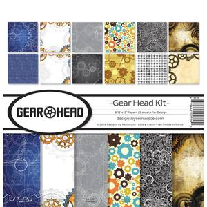 Bilde av Reminisce - 12x12 Collection Kit - GH200 - Gear Head