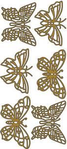 Bilde av Klistremerker - 0163 - Outline stickers - Sommerfugler store - G