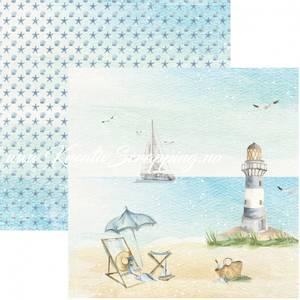 Bilde av Reprint - 12x12 - RP0454 - Seaside - On the Beach