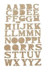 Bilde av Kort & Godt - ST-158 - Kork - Alfabet