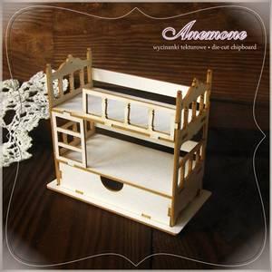 Bilde av Anemone - Chipboard - 3D Bunk bed with drawer