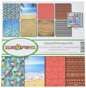Bilde av Reminisce - 12x12 Collection Kit - IP200 - Island Princess