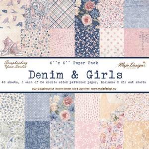 Bilde av Maja Design - 1039 - Paper Pad 6x6 - Denim & Girls