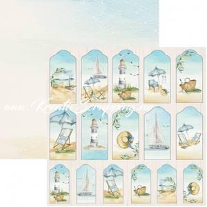 Bilde av Reprint - 12x12 - RP0458 - Seaside - Tags