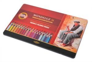Bilde av Koh-I-Noor - Mondeluz - Akvarell blyanter - 36stk