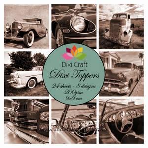 Bilde av  Dixi Craft - Dixi toppers - ET0236 - Vintage Cars
