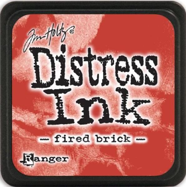 Distress - Mini Ink Pad - Fired Brick