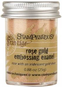 Bilde av Stampendous - Fran-Tage - Embossing enamel - Rose Gold