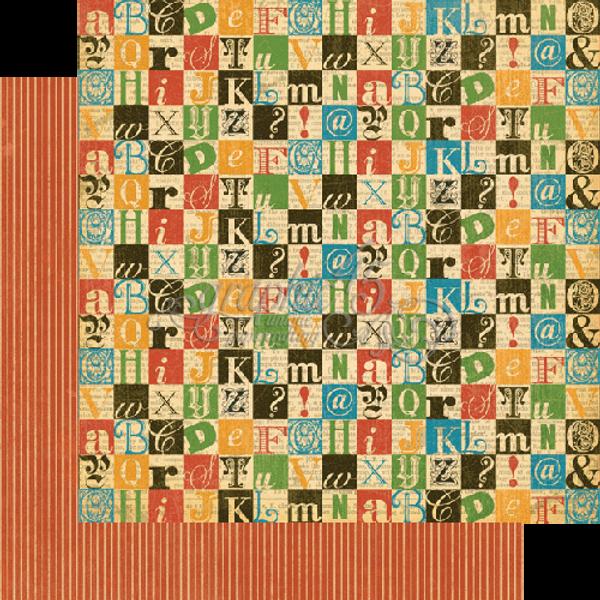 GRAPHIC 45 - 4500769 - TYPOGRAPHY - CREATE