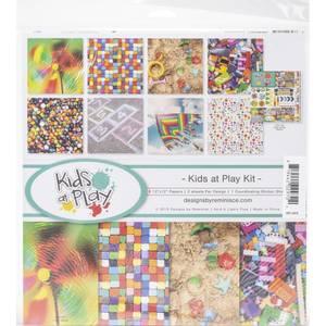 Bilde av Reminisce - 12x12 Collection Kit - KAP200 - Kids At Play