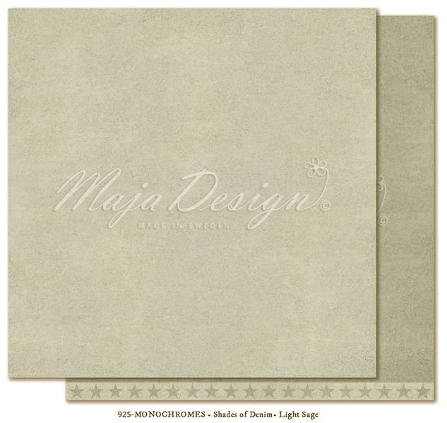 Maja -  927 - Monochromes - Shades of Denim - Light sage