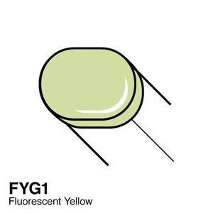 Bilde av Copic - Sketch Marker - FYG1 - FLUORESCENT - DULL YELLOW