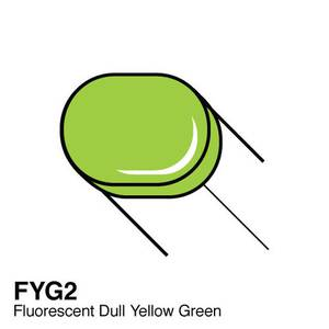 Bilde av Copic - Sketch Marker - FYG2 - FLUORESCENT - DULL YELLOW GREEN