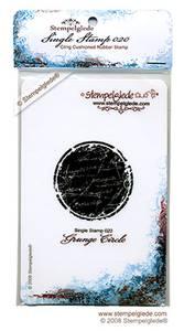 Bilde av Stempelglede - Single Stamp 020 - Grunge Circle