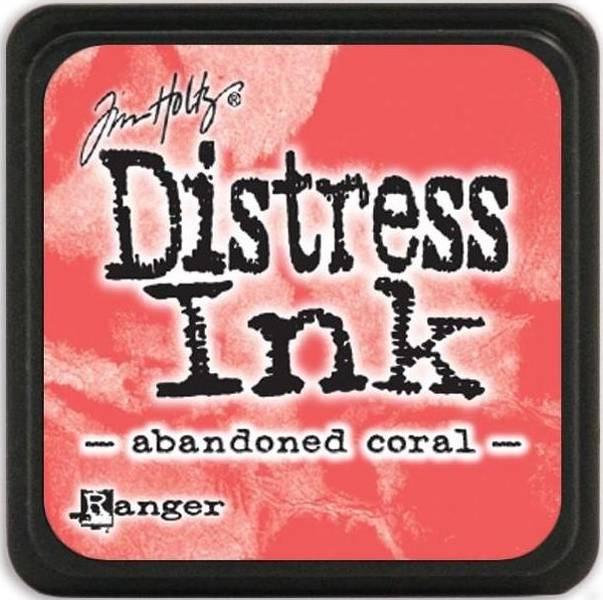 Distress - Mini Ink Pad - Abandoned Coral