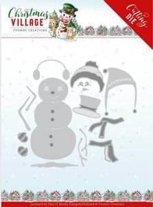 Bilde av FIT - Dies - YCD10208 - Yvonne Creations - Build Up Snowman