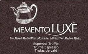 Bilde av Memento Luxe Ink Pad - ESPRESSO TRUFFLE