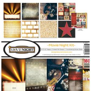 Bilde av Reminisce - 12x12 Collection Kit - MN200 - Movie Night