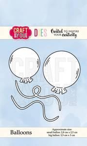 Bilde av Craft & You - Dies - CW067 - Ballons
