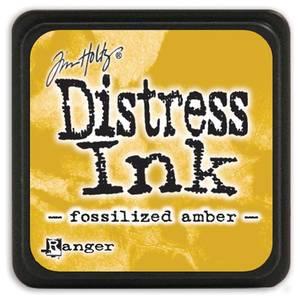 Bilde av Distress - Mini Ink Pad - Fossilized Amber