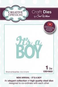 Bilde av Creative Expressions Die - CED10022 - It's A Boy