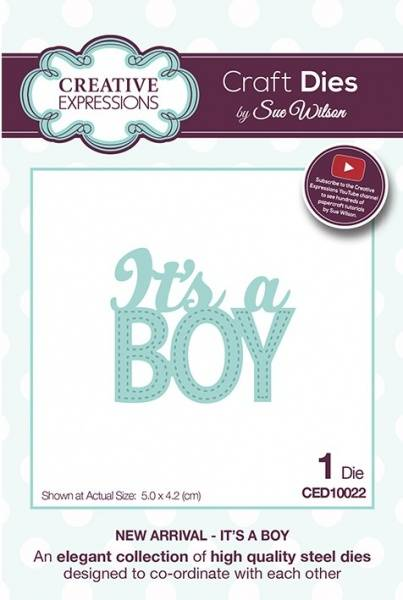Creative Expressions Die - CED10022 - It's A Boy