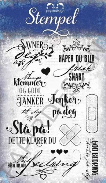 Papirdesign - Stempel - PD17246 - God bedring