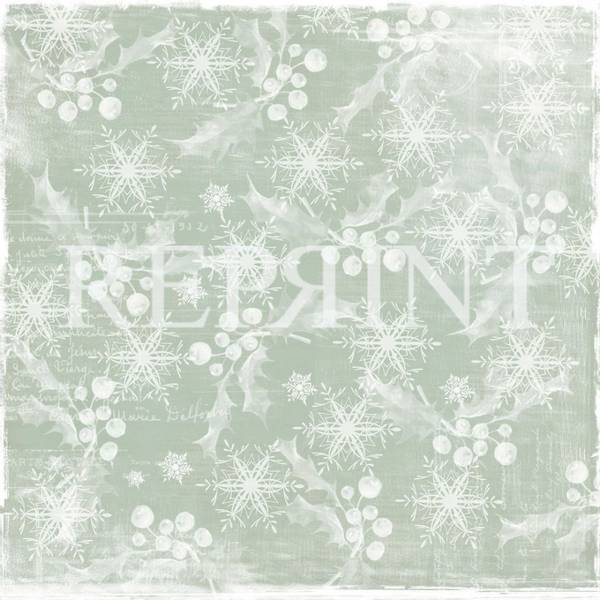 Reprint - 12x12 - RP0244 - Nordic light - White christmas