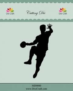 Bilde av Dixi Craft - Dies - MD0080 - Handball