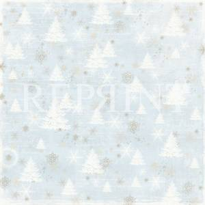 Bilde av Reprint - 12x12 - RP0246 - Nordic light - Trees