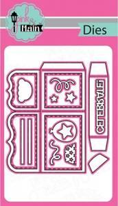 Bilde av Pink & Main - PNM112 - Box Card Dies