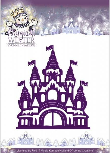 FIT - Dies - YCD10042 - Yvonne Creations - Magical Winter Castle