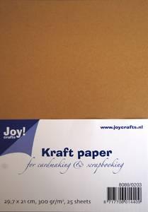 Bilde av Joy Crafts - Kartong - 8089-0203 - Kraft Paper 300g - A4 - 25stk