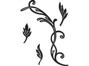 Bilde av Marianne Design - Craftables dies - CR1244 - Tinys swirls & leav