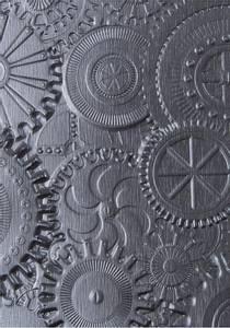 Bilde av Sizzix - 3-D Texture Fades - A6 - 662715 - Mechanics