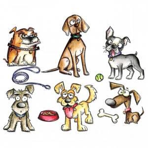 Bilde av Tim Holtz - Stampers Anonymous - CMS271 - Crazy Dogs